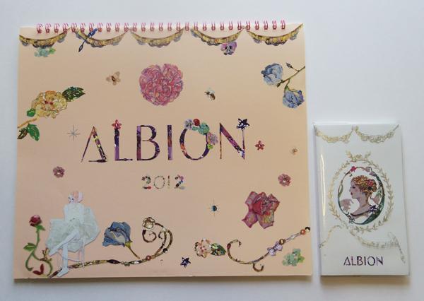 ALBION calendar 2012